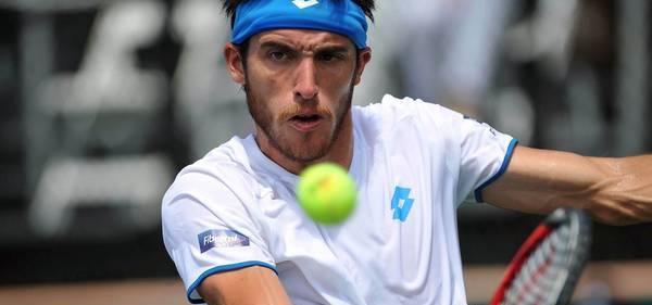 Copa Davis: Leo Mayer le dio el primer punto a Argentina en el repechaje con Israel