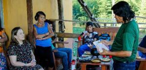 El Proyecto MATE cerró la etapa de desarrollo turístico en la comunidad Tekoa Yyryapú