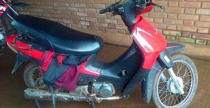 La Policía recuperó una motocicleta robada en Posadas