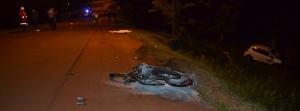 Dos motociclistas fallecieron en  un siniestro vial en Oberá
