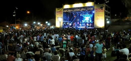 """Más de ocho mil personas disfrutaron de """"Música x Todos"""" en 25 de Mayo"""