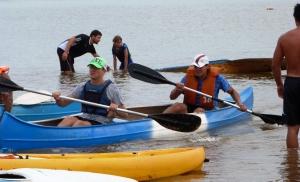 Diversión e inclusión: canotaje en la Bahía el Brete para disfrutar la plenitud del Paraná