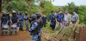 Megaoperativo policial en la chacra 145: tres detenidos