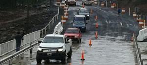 Habilitaron el puente provisorio sobre el arroyo Acaraguá