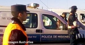 Cuatro heridos al despistar un auto en Loreto