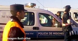 Accidente de tránsito dejó un herido en Campo Viera