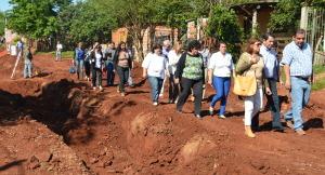 """""""Por la gente todo"""" estuvo en el barrio San Lorenzo de Posadas"""