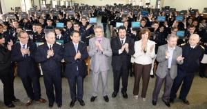 Rossi y Closs entregaron netbooks en el Liceo Storni y ratificaron la permanencia de la institución educativa en la sociedad