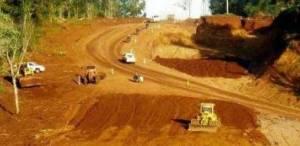 Avanzan las obras de asfaltado de la ruta 101, entre Cabure-í y Andresito