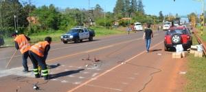 En Eldorado el municipio retiró reductores de velocidad de la Ruta 12