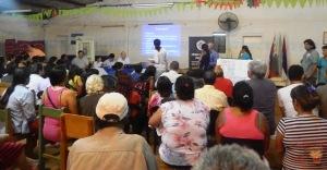 Las familias del programa de Mejoramiento Barrial realizaron un taller en Posadas