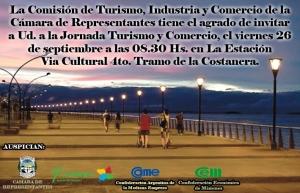 Este viernes se realizará una Jornada Provincial de Turismo y Comercio