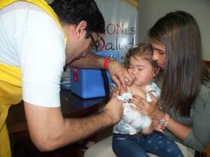 Comenzó campaña de refuerzo contra el sarampión, la rubéola y la polio para cubrir a unos 102 mil niños en Misiones