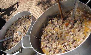 Mañana 1° de octubre a comer yopará en la plaza 9 de Julio