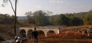 Hoy se habilitaría el puente sobre el arroyo Acaraguá