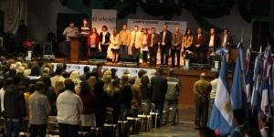 Se realizó en Campo Grande el acto por el Día del Maestro