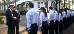 Misiones recibió la visita del comandante del Área Naval Fluvial de la Armada Argentina