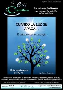 """Mañana """"Cuando la luz se apaga, el dilema de la energía"""", divulgación científica, creativa y divertida"""