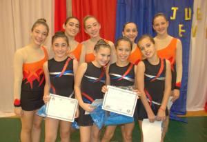 Juegos Evita: se realizaron las finales provinciales de gimnasia rítmica