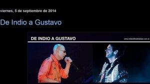 El mensaje del Indio Solari a Gustavo Cerati