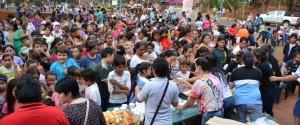 Se hizo la fiesta del Día del Niño en la plazoleta La Paloma de Montecarlo