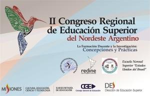 Debatirán sobre las problemáticas educativas en el II Congreso Regional de Educación superior del Nordeste