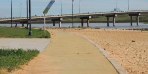 Proponen concesionar la explotación comercial de la playa oeste de Posadas.