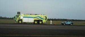 Realizaron un simulacro para recibir pasajeros infectados con ébola, en el aeropuerto de Iguazú