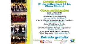 El viernes comienza el Festival Coral Iguazú con unos 300 coreautas