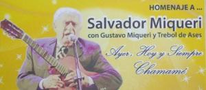 Realizarán una gala homenaje al chamamesero Salvador Miqueri en el Montoya