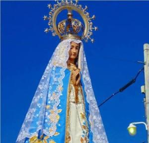 """Como María, con alegría, sin miedo para servir"""