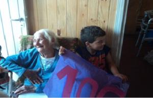 En Oberá Lita festejó sus 106 años con una vivienda del Iprodha