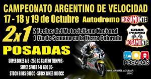 Misiones vibrará con las motos más rápidas del país