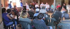 Posadas: funcionarios se reunieron en el barrio El Porvenir con oleros y emprendedores