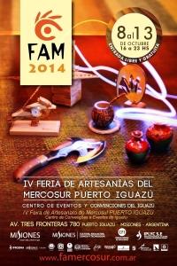 Más de 15 mil pesos en premios reparte este año La Feria de Artesanías del Mercosur
