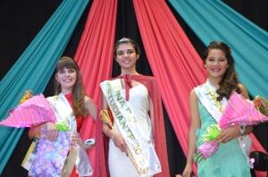 Camila Todt; reinas de los estudiantes de Montecarlo