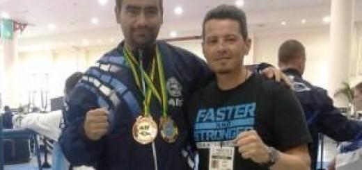 El misionero Antonio Ramos, medalla de oro en el Mundial de Taekwondo de Jamaica
