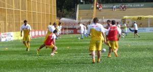 En Crucero vuelven Barraza y Tarrito para el duelo del miércoles frente a Sportivo Belgrano