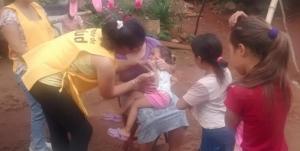 Se vacunaron a más de 30 mil niños contra la rubeola, la poliomielitis y el sarampión en Misiones