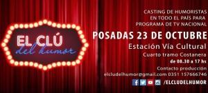 """""""El Clú del Humor"""", un docu-reality sobre humor pensado, producido y gestado federalmente, llega a Posadas"""