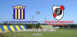 Guaraní aprovecha la fecha libre y juega el clásico con Mitre para reinaugurar su estadio