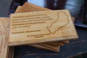 Histórica regularización de tierras para casi 500 familias en Pozo Azul