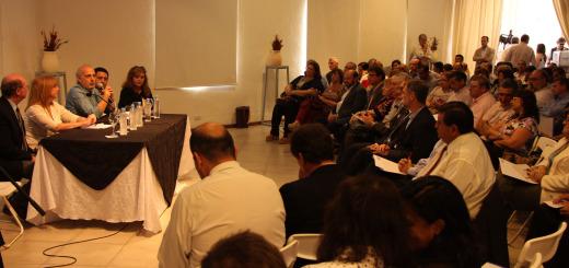 Jacobo fue uno de los expositores en el encuentro federal que se hizo en Paraná.