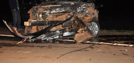 Un accidente entre dos autos dejó 8 heridos en Campo Viera