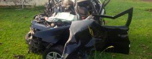 Cuatro muertos en un choque entre un coche y un camión en Santo Tomé