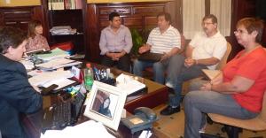El IPS y Hacienda se reunieron con la mesa de enlace policial