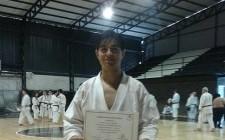 Dos misioneros, en el Mundial de Karate de Japón