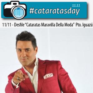 #cataratasday: Mariano Iúdica y Miguel Ángel Cherutti estarán en Iguazú junto a las modelos y al recital de Los Nocheros