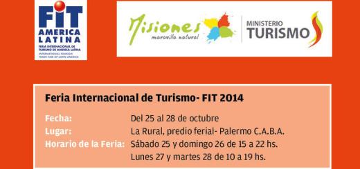 Desde el 25, Misiones te espera! en la Feria Internacional de Turismo de Buenos Aires