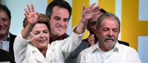 """Dilma ganó el balotaje y exhortó a los brasileños a """"encontrar puntos en común"""" para hacer """"avanzar"""" al país"""